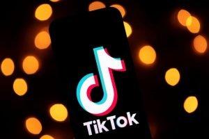 TikTok application poster