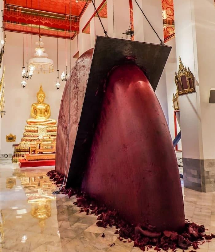 Bangkok Art Biennale artworks by Anish Kapoor