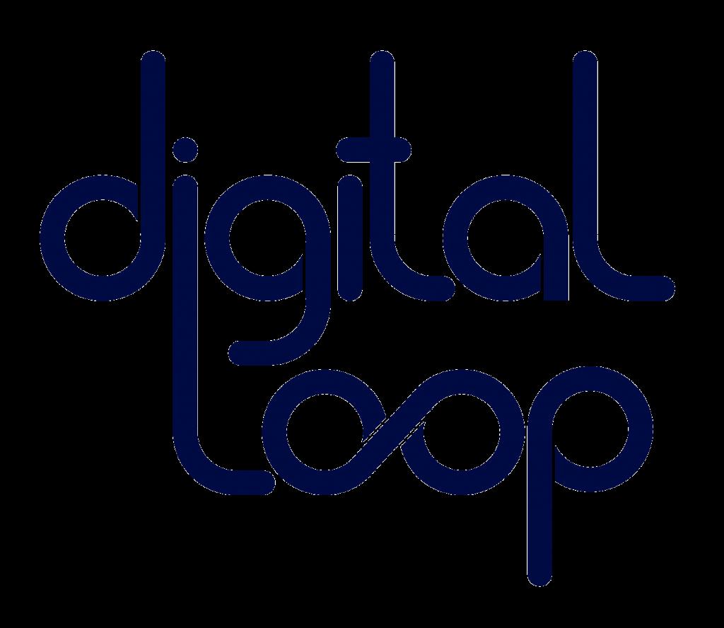 digital Loop Blue Logo